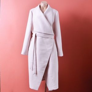 The Limited Pale Pink Wrap Coat XL